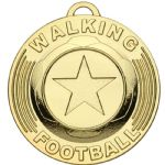 Football Walking Medal 50mm AM1165